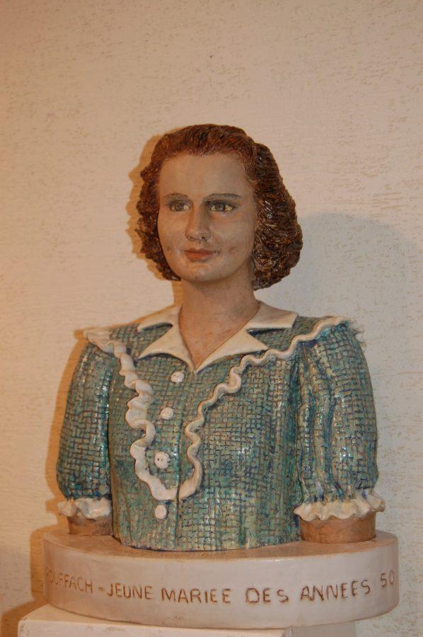 jeune mariée des années 50